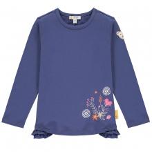 Steiff T-Shirt lg.Arm Blumen Rüsche