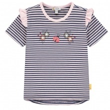 Steiff T-Shirt Mäd.Blüten Käfer Rüsche