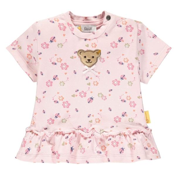 Steiff Baby Shirt Mäd. Blüten Rüsche