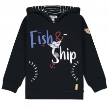 Steiff Sweat Ju.Fish&Ship Kapuze