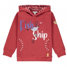 Steiff Sweat Ju.Fish&Ship Kapuze
