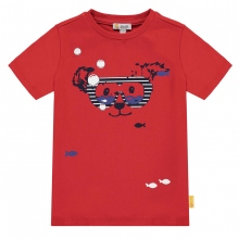 Steiff T-Shirt Ju. Taucherbrille