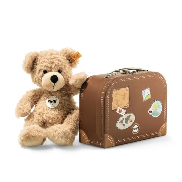 Steiff Teddybär Fynn im Koffer