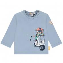 Steiff Baby Shirt lg.Arm Ju.Rollerbär