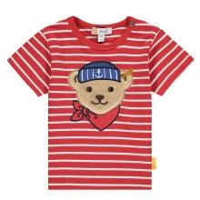 Steiff Baby Shirt Ju.Ringel Matrosenbär