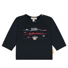 Steiff Baby Shirt Ju. lg.Arm Littel Fish