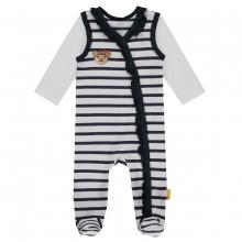 Steiff Baby Strampler+Shirt lgArm Rüsche