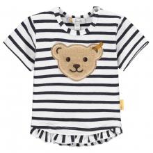 Steiff Baby Shirt Mäd.Ringel Rüsche