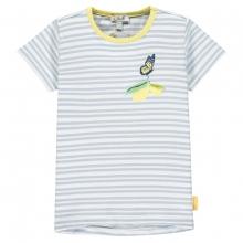 Steiff T-Shirt Mäd. Ringel Zitrone