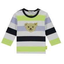 Steiff Baby Shirt lg.Arm Ju.Blockringel