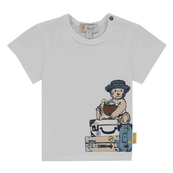 Steiff Baby Shirt Ju. Bär auf Koffer