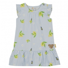 Steiff Baby Kleid o.Arm Streifen Zitrone