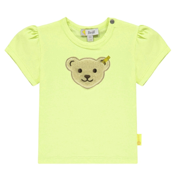 Steiff Baby Shirt Mäd.großer Bärenkopf