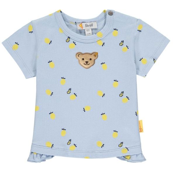 Steiff Baby Shirt Mäd.Allover Zitrone