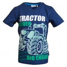 Salt & Pepper Shirt Tractor Driver