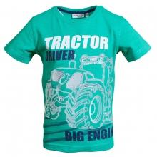 Salt & Pepper Shirt Tractor Driver