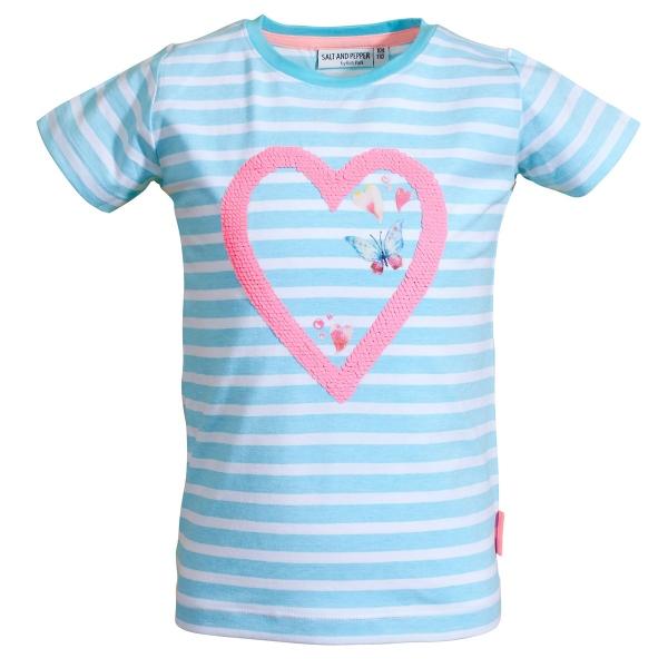 Salt & Pepper Shirt Ringel Herz