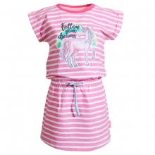 Salt & Pepper Kleid Ringel Einhorn