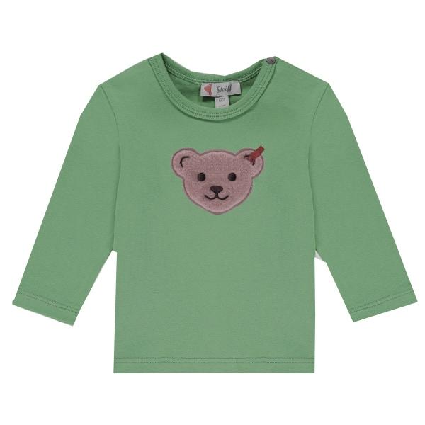 Steiff Baby Shirt lg.Arm Ju. Bärenkopf