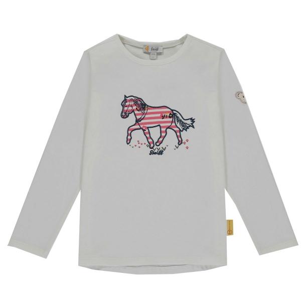 Steiff T-Shirt lg.Arm Mäd. Pony