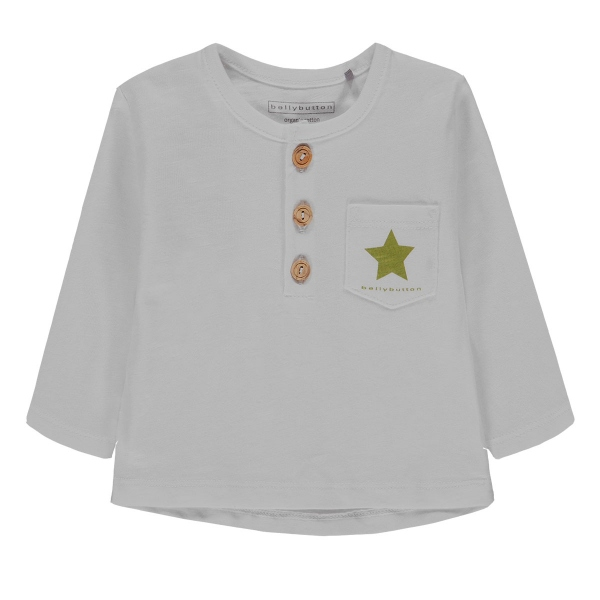 Bellybutton Baby Shirt lg.Arm Ju.Knöpfe