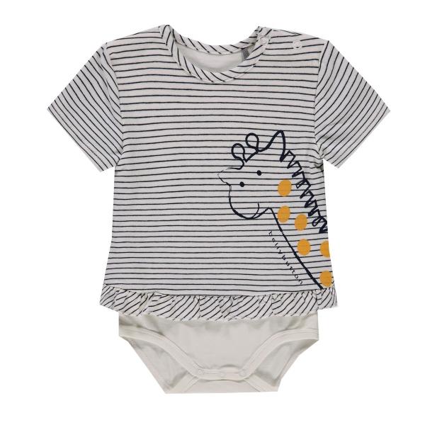 Bellybutton Baby Shirt mit Body Giraffe