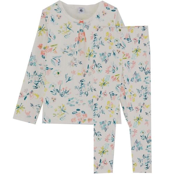 Petit Bateau Mäd.Pyjama Blumen