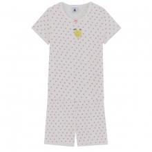 Petit Bateau Mäd Pyjama kurz Punkte