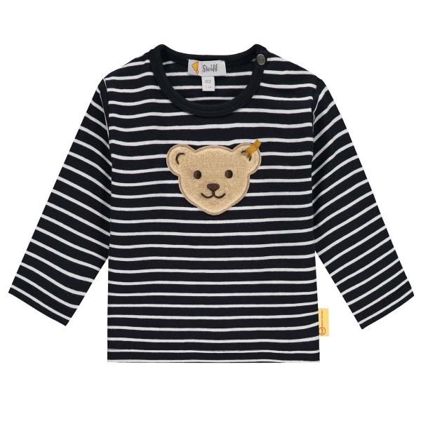 Steiff Baby Shirt lg.Arm Ringel
