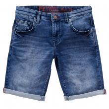 Petrol Slim Fit Jeans Shorts Jackson