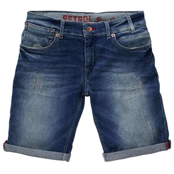 Petrol Jeans Regular-Fit Shorts Blizzard