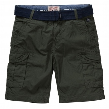 Petrol Cargo Shorts Baumwolle
