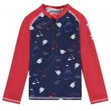 Steiff UV Shirt Ju.lg.Arm Fische