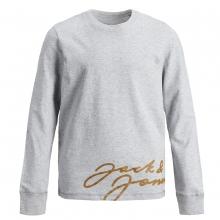 Jack & Jones Sweatshirt Schriftzug gold