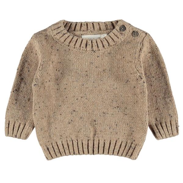 Lil Atelier Baby Pullover Mäd.meliert