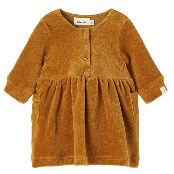 Lil Atelier Baby Kleid lg.Arm Knopfleist
