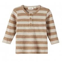 Lil Atelier Baby Shirt lg.Arm Ringel