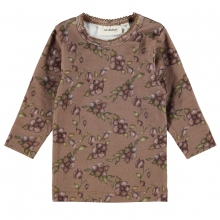 Lil Atelier Baby Shirt Mäd.Lg.Arm Blüten