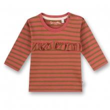 Sanetta Pure Shirt lg.Arm Rüsche Ringel