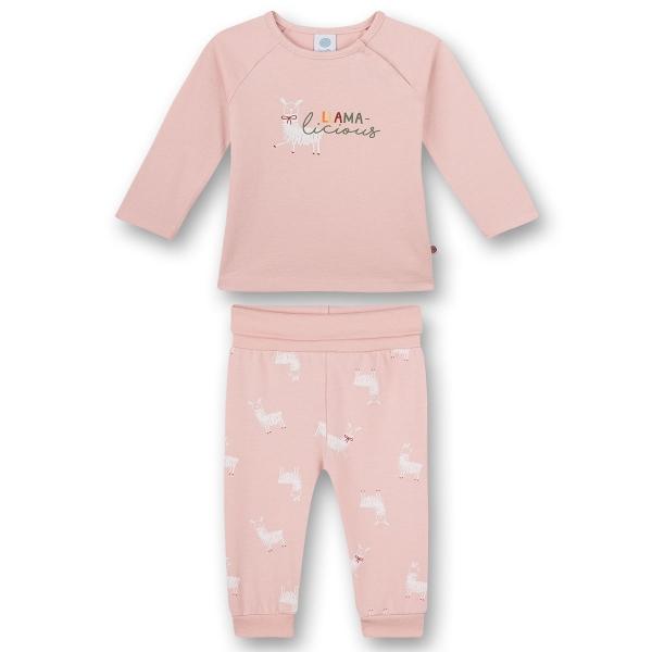 Sanetta Baby Pyjama lang Mäd.Lama