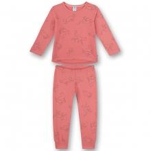 Sanetta Pyjama lang Mäd.Allover-Katzen