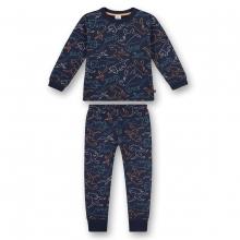 Sanetta Pyjama lang Ju.Allover-Dinos