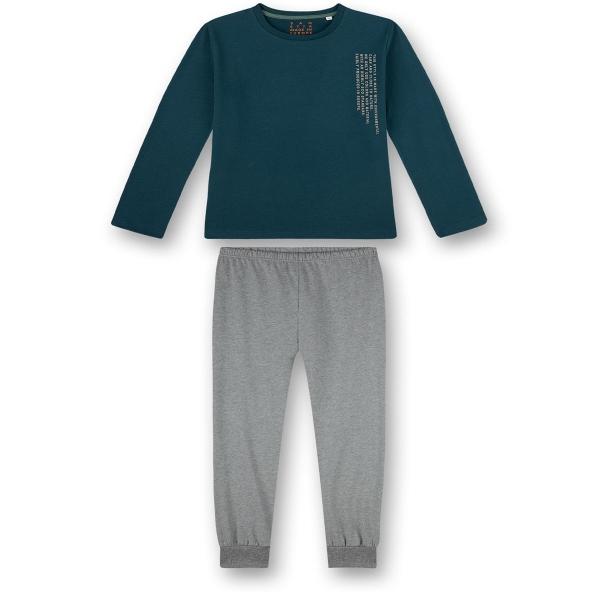 Sanetta Pyjama lang Ju.Schrift seitlich