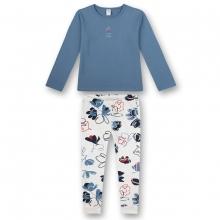 Sanetta Pyjama lang Mäd. Blumenhose