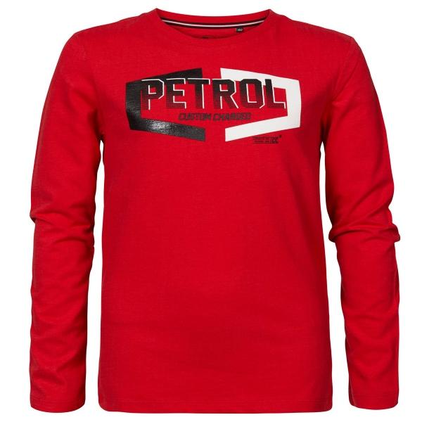 Petrol Shirt lg.Arm Logo