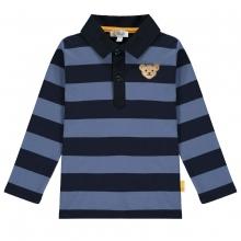 Steiff Polo Shirt lg.Arm Ju.Blockringel