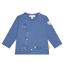 Steiff Baby Shirt Ju. lg.Arm Igel