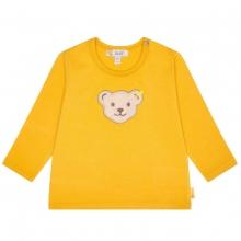 Steiff Baby Shirt lg.Arm Ju.uni Bärkopf