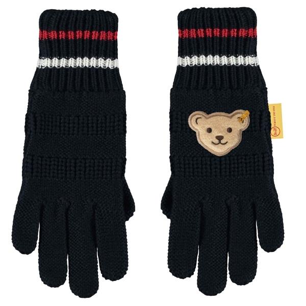 Steiff Strick Finger Handschuhe Ju.