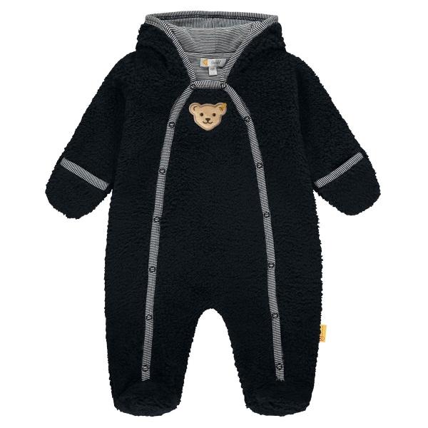 Steiff Baby Fleece Overall Ju. Kapuze